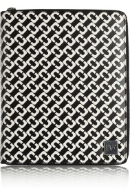 DVF Black & White Tablet Cover