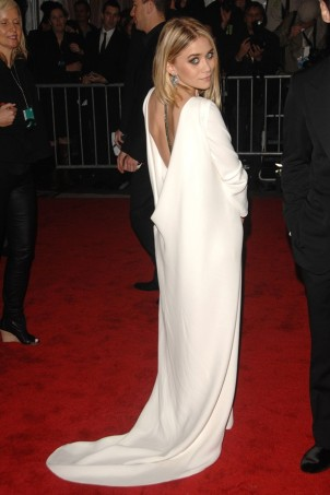 Ashley Olsen wearing The Row