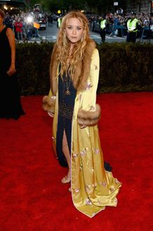 Mary Kate Olsen wearing vintage Chanel