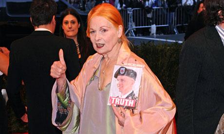 Vivienne Westwood at Met Gala 2013